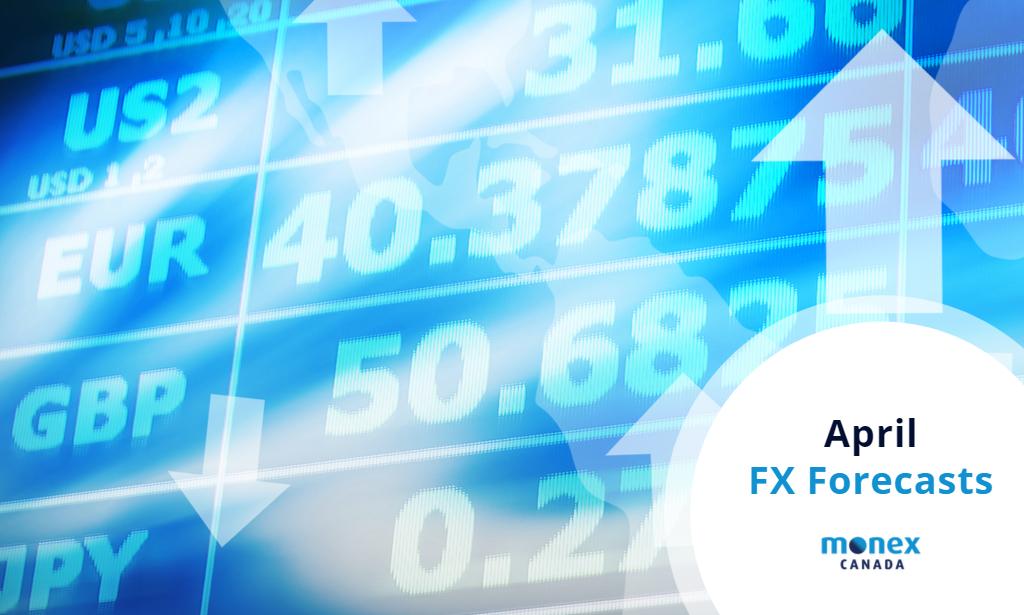Monex Canada April 2021 FX Forecasts