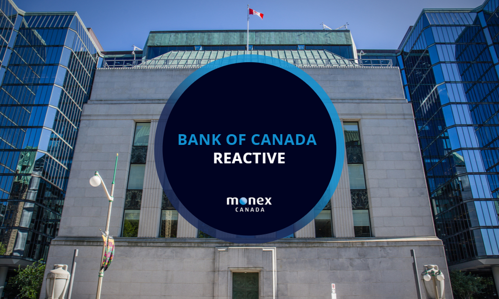 Bank of Canada maintains message in line with expectations