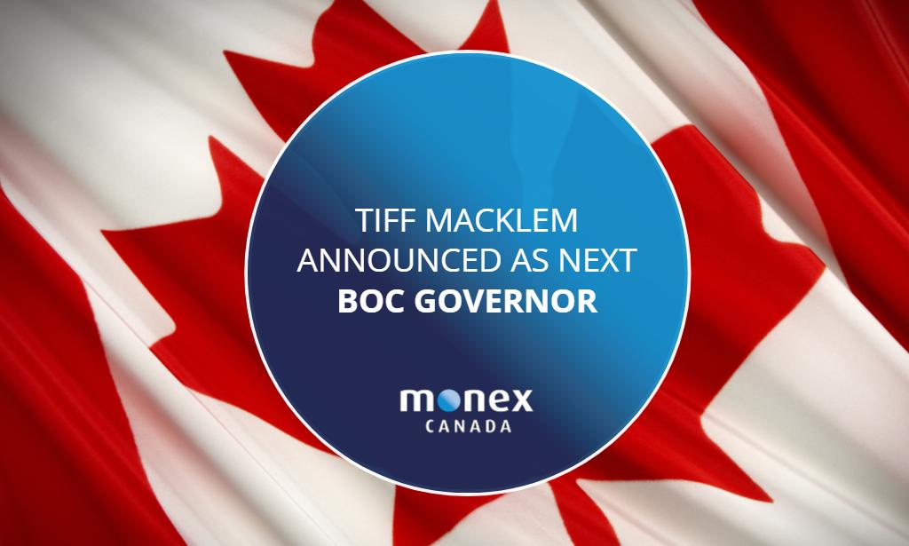 Tiff Macklem announced as next BoC Governor