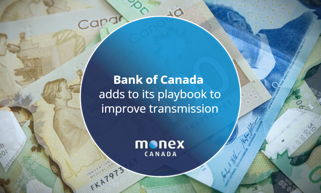 Bank of Canada adds to its playbook to improve transmission