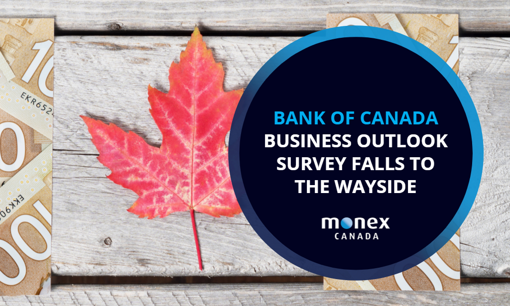 Bank of Canada Business Outlook Survey falls to the wayside
