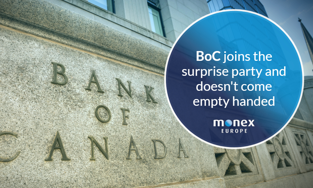 BoC joins the surprise party and doesn't come empty handed