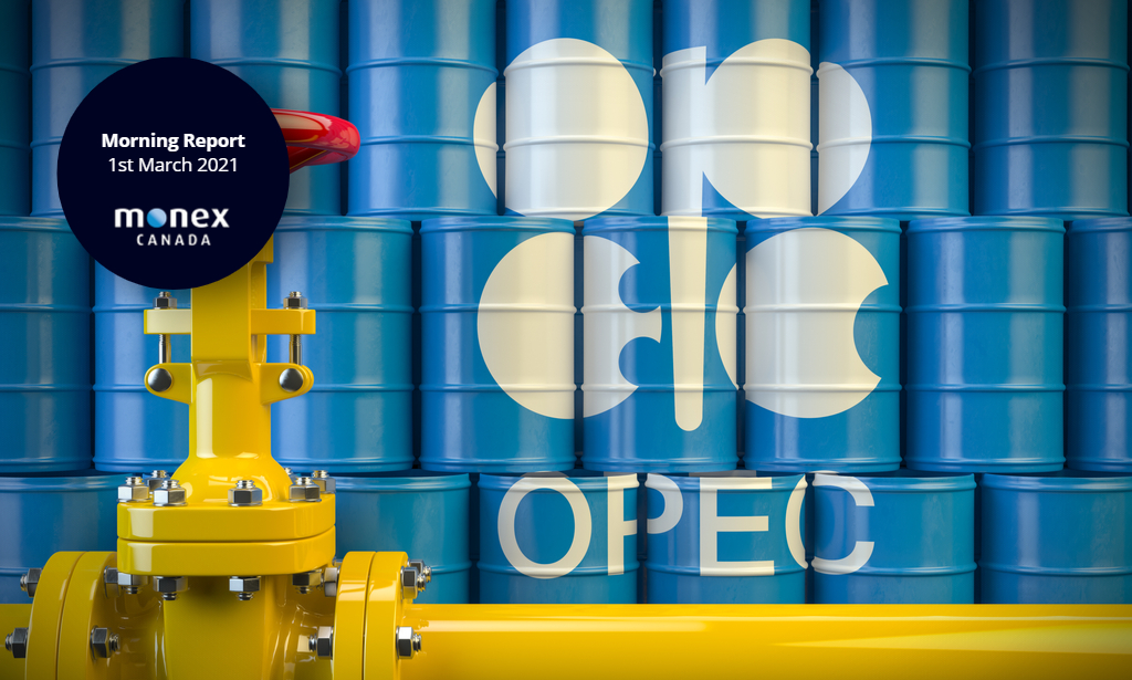 Loonie could get volatile with OPEC set to meet on Thursday