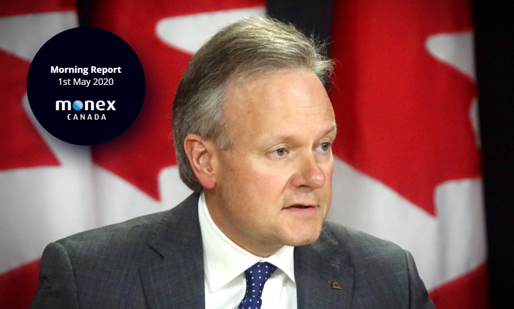 Loonie on the back foot with Poloz's successor set to be announced