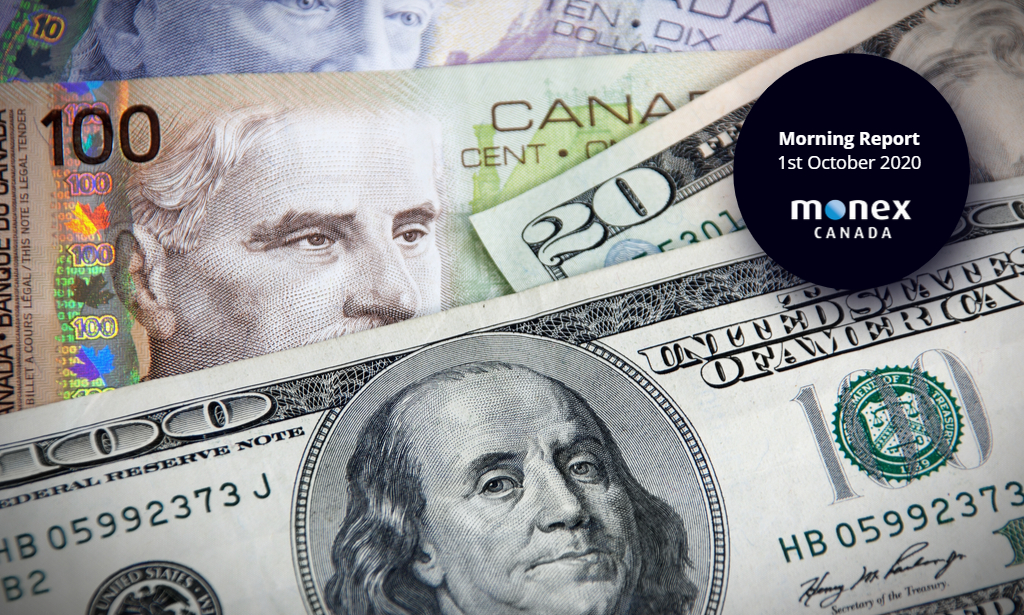 Loonie starts to retrace recent losses as the greenback softens