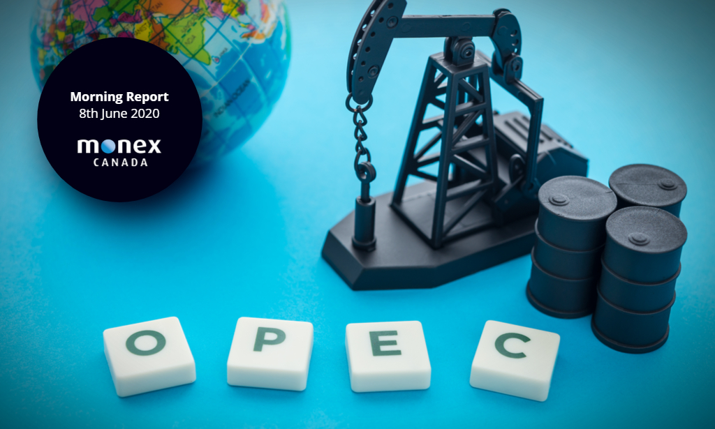 Loonie finds support in OPEC+ output cut extension
