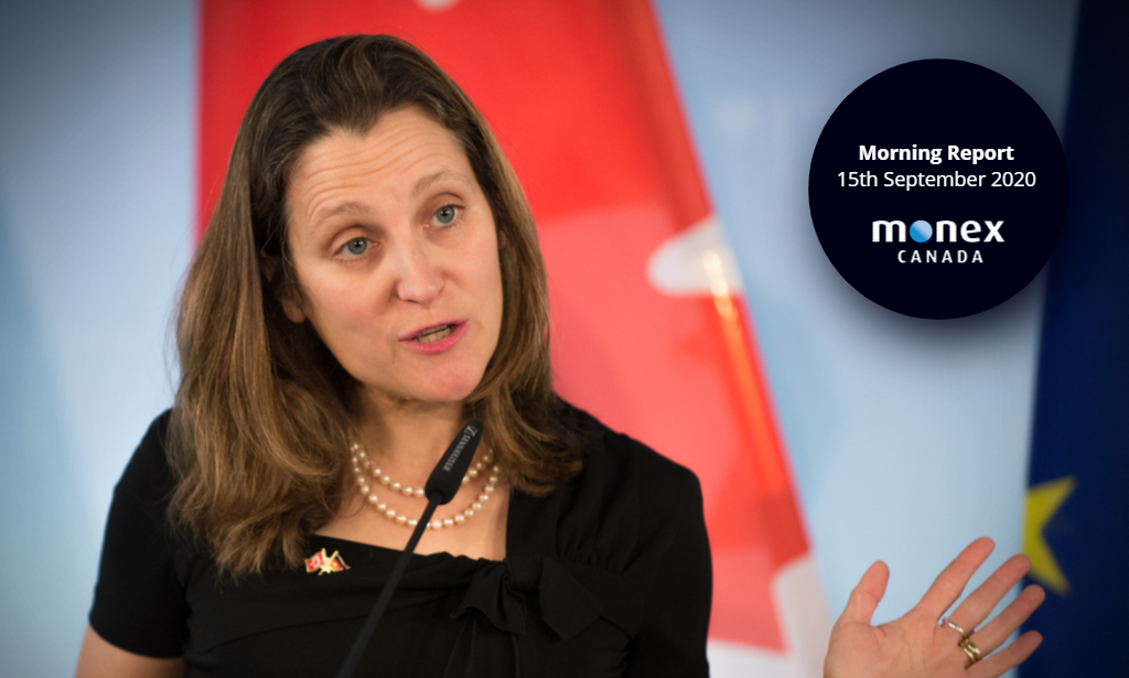 Freeland told no such thing as a free lunch by major Canadian banks