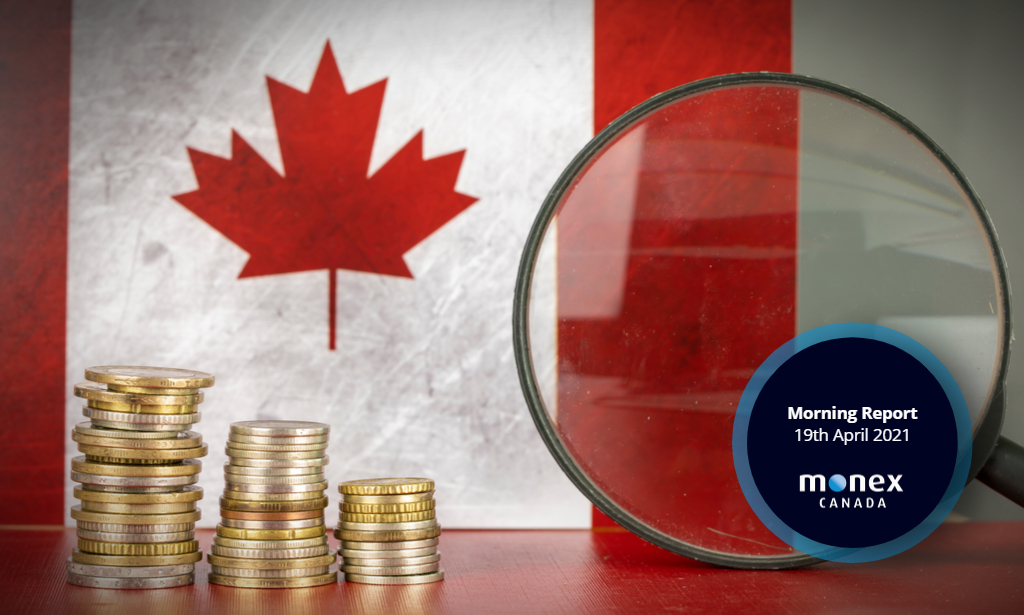 Canadian budget to be FX highlight of the day before Wednesday's BoC decision