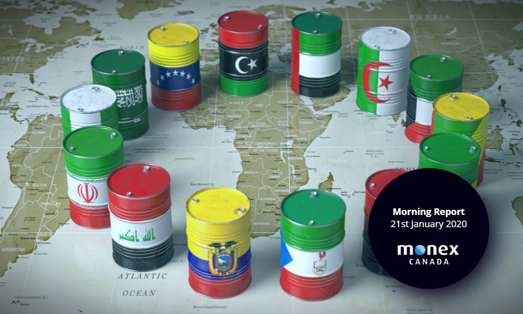 Loonie slides as OPEC meeting back on