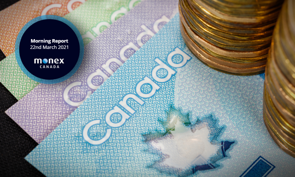 Loonie struggles for direction amid mixed market