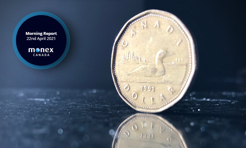 Loonie surges most since June 2020 after BoC taper QE and signal earlier lift-off