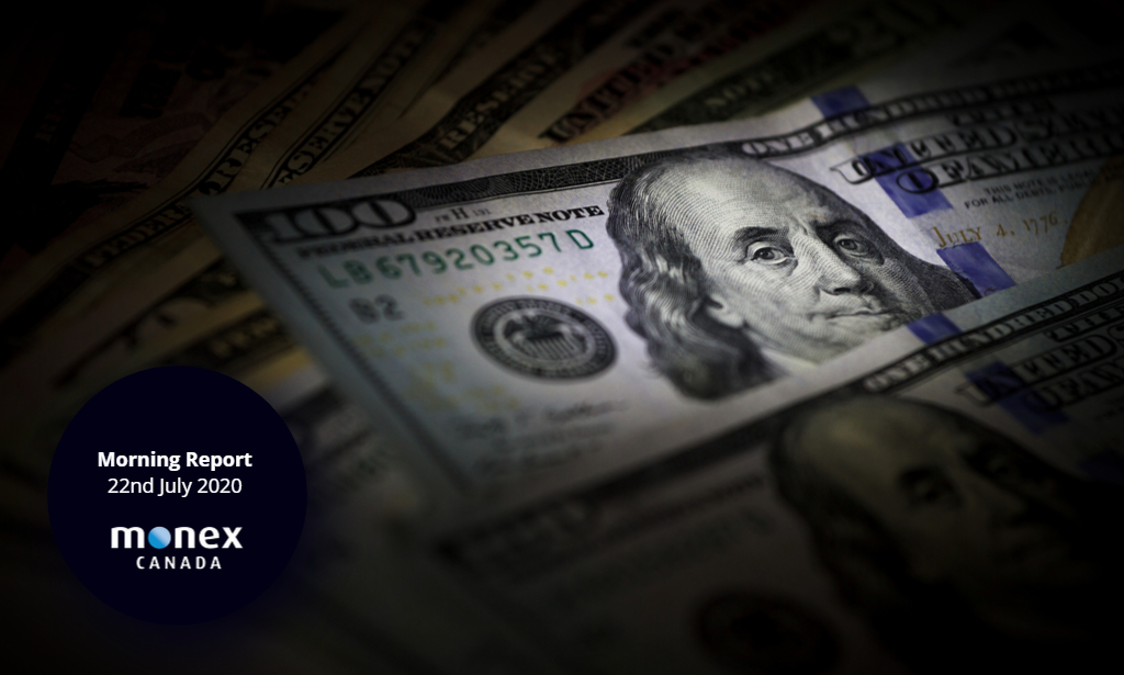 Loonie finally breaks range as USD gets routed