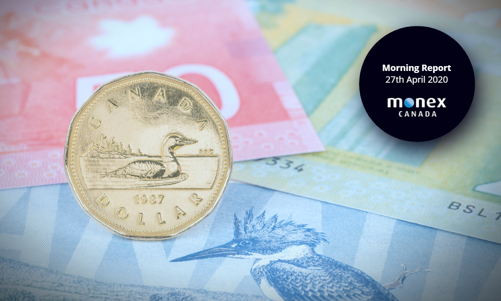 Loonie lagging in risk-on rally as oil markets take another dip