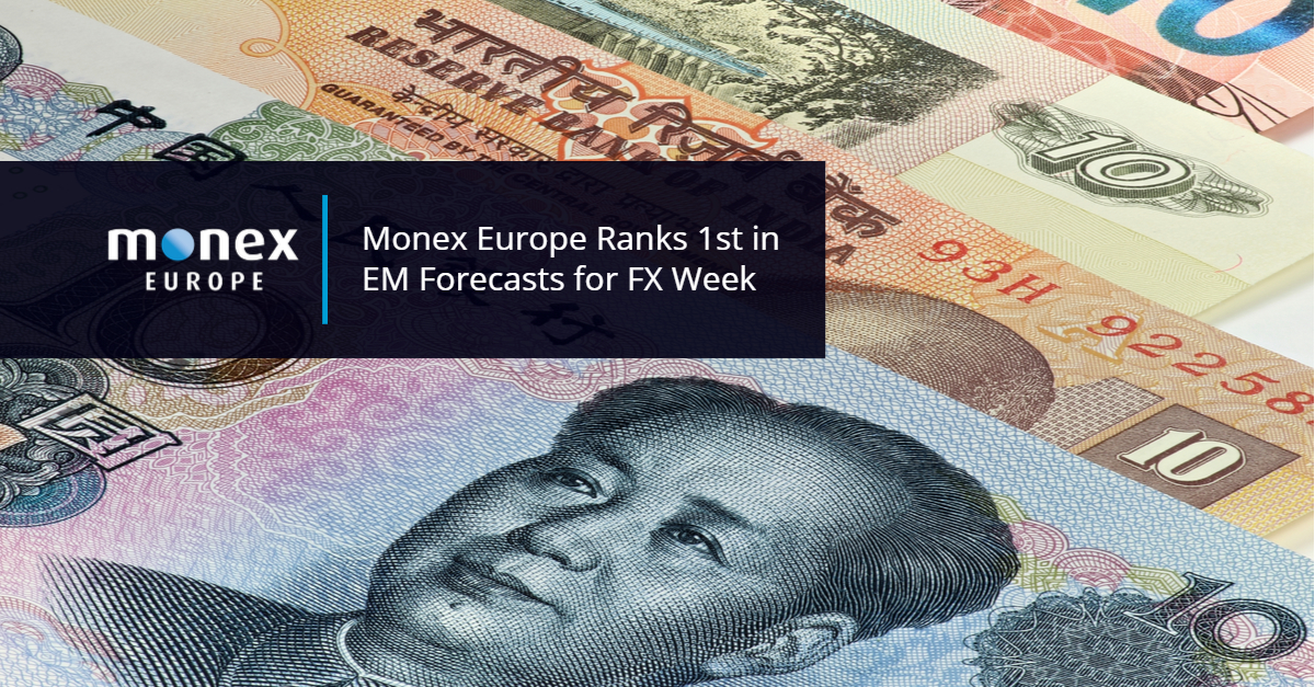 Monex Europe top FX Week forecaster for Emerging Market Currencies