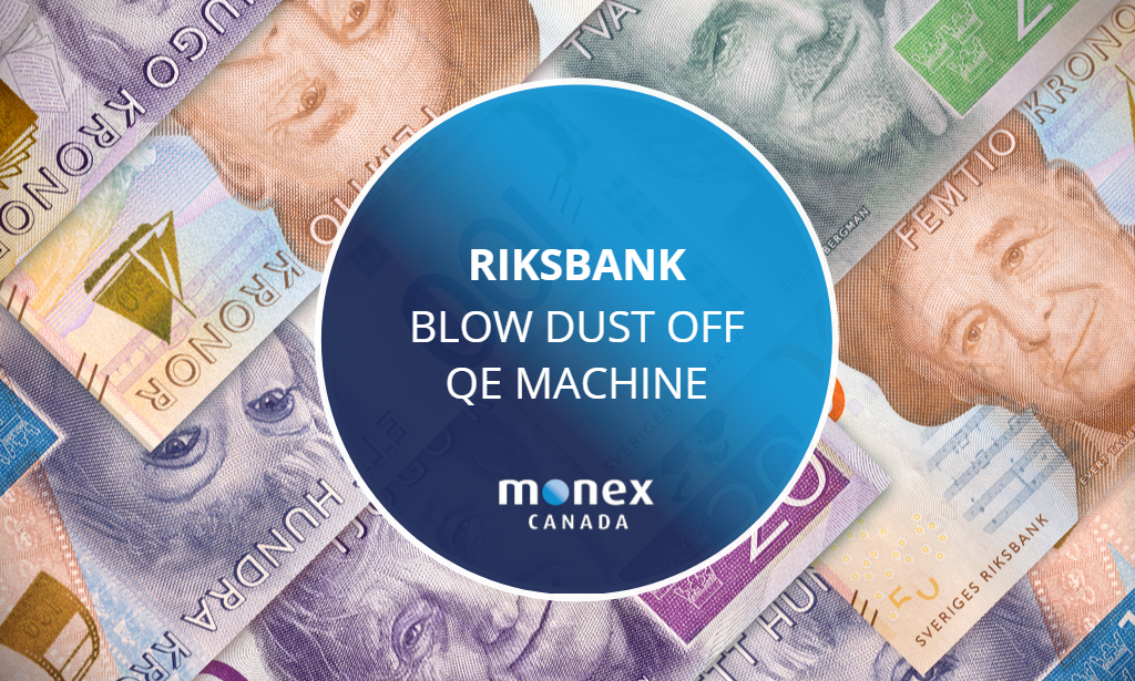 Riksbank blow dust off of QE machine to avoid shame of negative rates