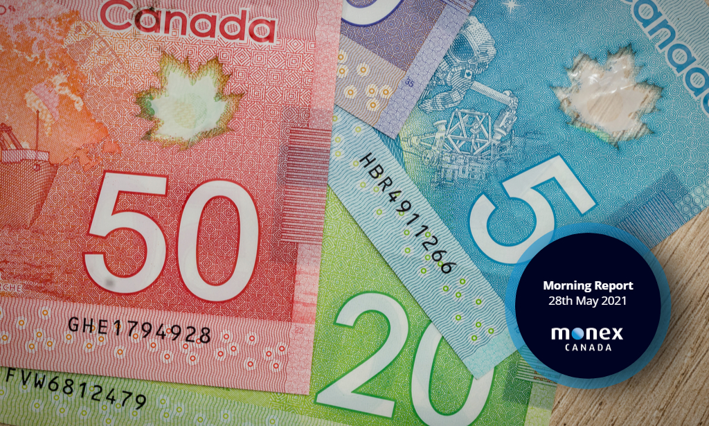 Loonie continues to trade in a tight range near six-year highs