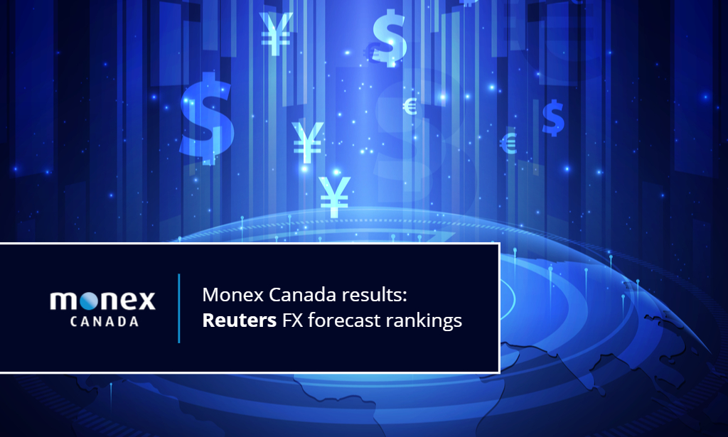 Reuters ranks Monex Canada high in FX Polls