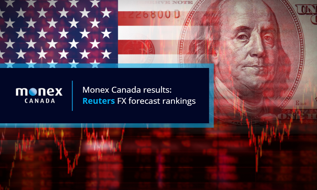 Expected dollar downturn results in strong near-term forecast rankings for Monex
