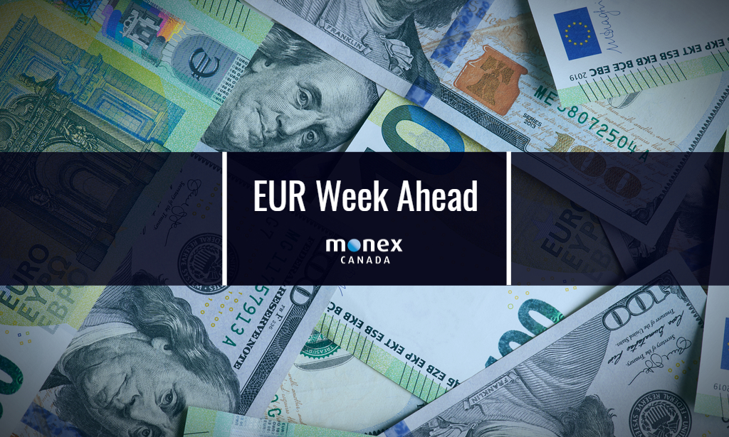 Euro weighed down by economic sentiment and a strong US dollar